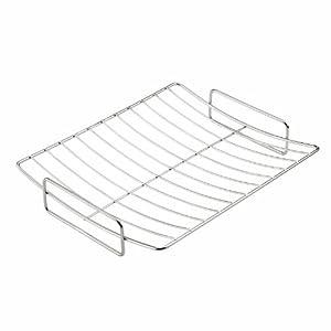 scanpan 18 10 stainless steel roasting rack large roasting pans kitchen dining. Black Bedroom Furniture Sets. Home Design Ideas