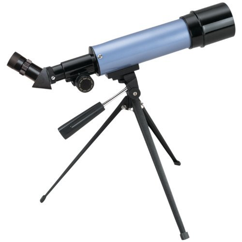 Carson Aim Refractor-Type 20-80X Power Telescope With Tabletop Tripod (Mtel-50)