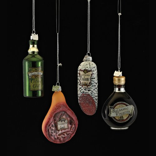 Italian Food Christmas Ornaments