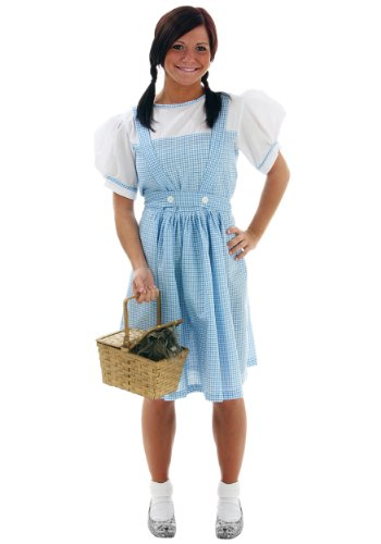 [Dorothy Teen Costume Adult Size 4] (Dorothy Wizard Of Oz Costume Teenager)