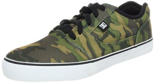 DC Men's Bristol SP Lace-Up Fashion Sneaker,Camo Black,12 M US