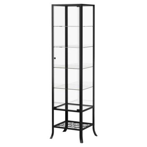 Ikea Klingsbo Glass Display Cabinet Lockable