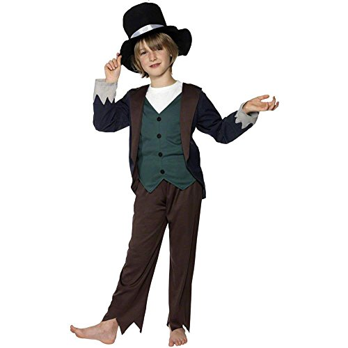 Victorian Poor Boy Kids Costume