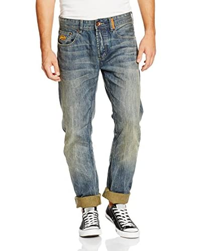 Superdry Jeans Copperfill Loose graublau W33L32