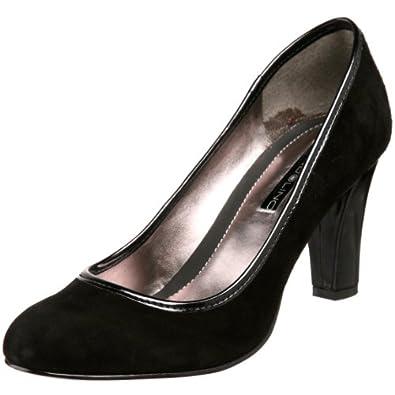 Amazon.com: Bandolino Women's Adiva Pump,Black Suede,6 M ...