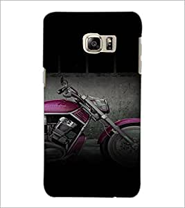 PrintDhaba Bike D-4464 Back Case Cover for SAMSUNG GALAXY NOTE 5 (Multi-Coloured)