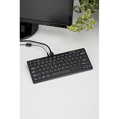 テックウインド 省スペースPC キーボードPC ブラック WP004-BK