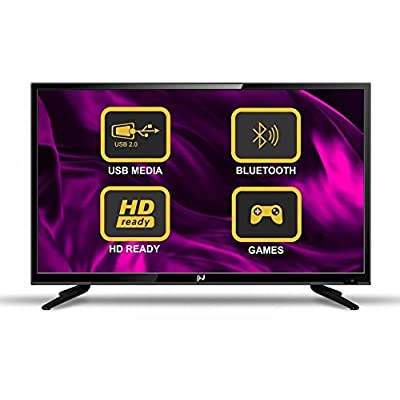 Noble Skiodo 32CN32P01 81cm (32 inches) HD Ready LED TV (Black)