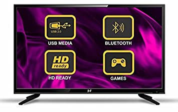Noble Skiodo 81cm (32 inches) 32CN32P01 HD Ready LED TV (Black)