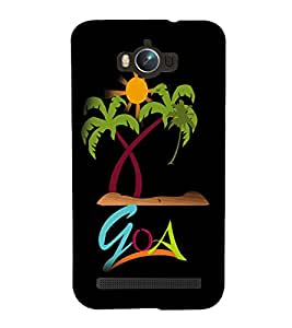 printtech Cool Quotes Back Case Cover for Asus Zenfone Max ZC550KL