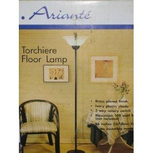 Ariante Torchiere Designer Floor Lamp