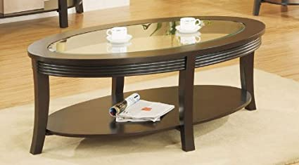 Coffee Table in Dark Espresso by Poundex
