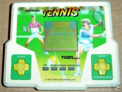 Tiger Electronic Tennis Handheld Game