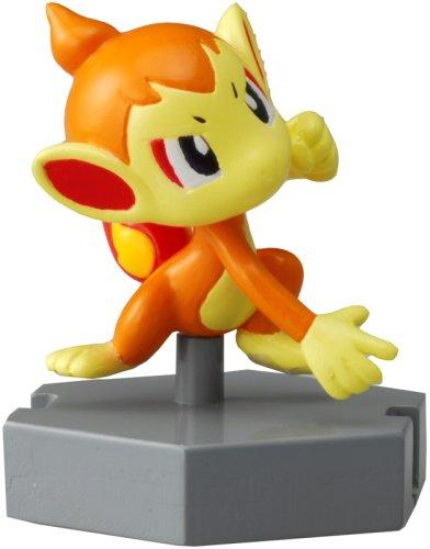 "Pokemon Diamond & Pearl Moncolle Plus - Chim Char (P-4) 1.5"" Figure - 1"