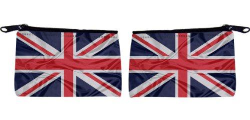 Rikki KnightTM Great Britain Flag Design Scuba Foam Coin Purse