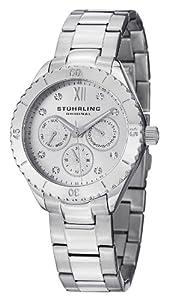 Stuhrling Original Women's 549.01 Regent Gala Quartz Multifunction Stainless Steel Watch