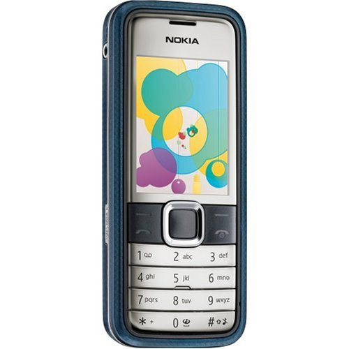 Nokia 7310 Supernova Sim Free Mobile Phone - Blue