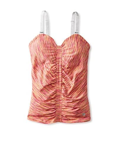 15Love Women's Ruched Sweetheart Tank