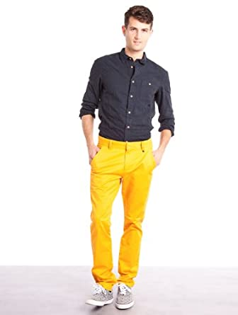 Jeans Eddy Gold Honey WeSC W30 L32 Homme