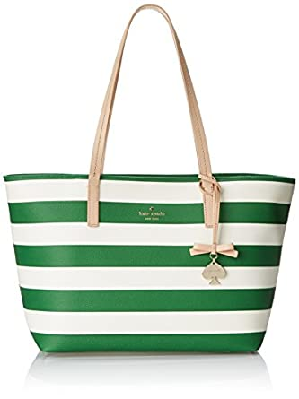 kate spade new york Hawthorne Lane Ryan Shoulder Bag, Lucky Green/Cream, One Size