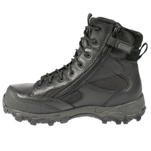 "Men's Blackhawk Warrior Wear ZW7 7"" Side - zip Waterproof Boots, BLACK, 6.5"