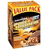Pure Protein Chocolate Peanut Butter Value Pack bars, (Pack of 2)