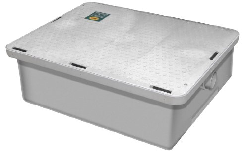 Canplas 3925A02LO Thermoplastic Grease Interceptor - Low Profile, 25 G