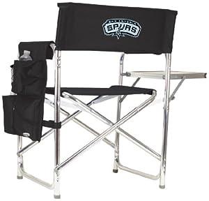 NBA San Antonio Spurs Portable Folding Sports Chair by Picnic Time