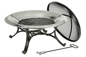 Deckmate Steel Fire Bowl, Round