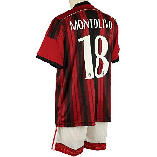 ACミラン リッカルド・モントリーヴォ ホーム 14-15 サッカーレプリカユニフォーム 大人用
