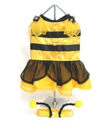 Bumblebee Fairy Dog Costume (Pet Bumblebee Costume)