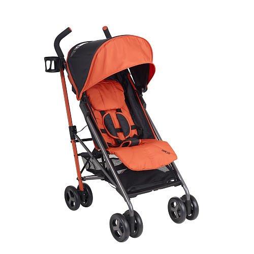 Babies R Us Zobo Lightweight Stroller Pumpkin front-207709
