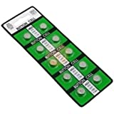 Pack of 10 Replacement Suitable Batteries for Hexbug Nano, Ant, Crab and Inchworm