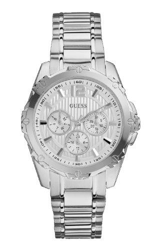 Guess W0232L1 - Reloj de pulsera mujer, acero inoxidable, color plateado