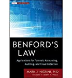 img - for [(Benford's Law: Applications for Forensic Accounting, Auditing, and Fraud Detection )] [Author: Mark Nigrini] [Apr-2012] book / textbook / text book