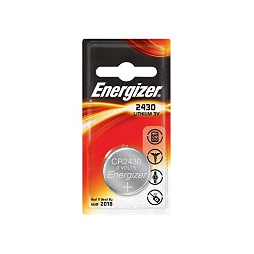 ENERGIZER Lot de 3 Blisters de 1 pile lithium calculatrices/photo CR 2430 3V