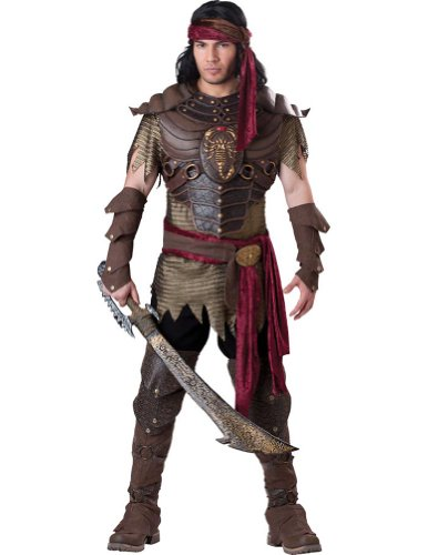 Scorpion Warrior Adult Costume Lg Adult Mens Costume - Incharacter