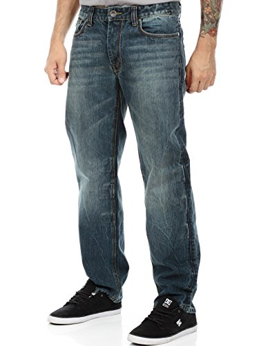 Jeans Kevlar King Kerosin Speedking Super Stone (38 Vita X 32 = Eu 52 , Blu)