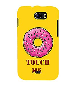 Touch Me Cute Fashion 3D Hard Polycarbonate Designer Back Case Cover for Micromax Canvas 2 A110Q :: Micromax A110Q Canvas 2 Plus :: Micromax Canvas 2 A110