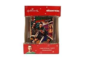 Amazon.com: Hallmark The Big Bang Theory Christmas Tree ...