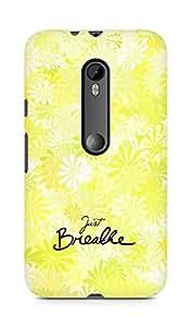 AMEZ just breathe Back Cover For Motorola Moto G3