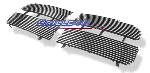 APS Polished Chrome Billet Grille Grill Insert #D85374A (2004 Dodge Ram 1500 Grill compare prices)