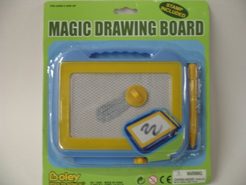 Magic Drawing Board Stamp Included