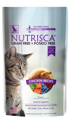 DOGSWELL - NUTRISCA CAT CHICKEN 4 LB