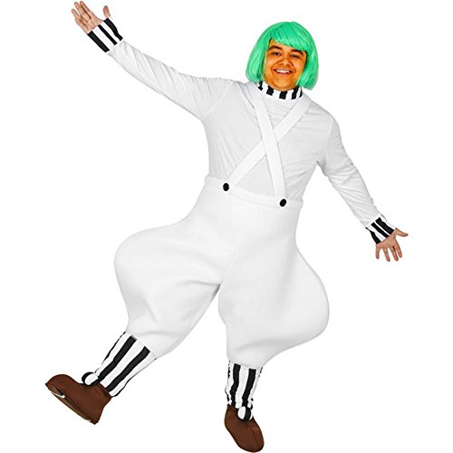 Adult's Candy Worker Halloween Costume (Size: Standard 44)