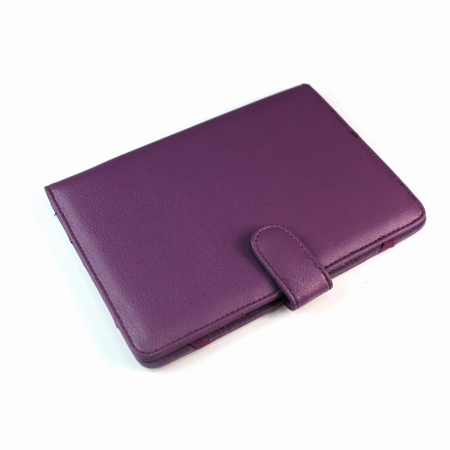 Pandigital Planet 7 Tablet Carton / Cover - Purple SRX Executive by Kiwi Cases