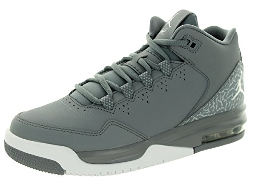 Nike Jordan Kids Jordan Flight Origin 2 BG Cool Grey/White/Wolf Grey Basketball Shoe 6 Kids US