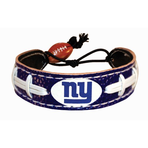 New York Giants Team Color NFL Football Bracelet at Amazon.com