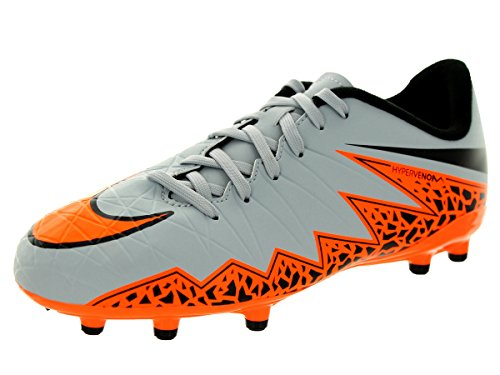 Nike JR Hypervenom Phelon II FG Kinder Fussballschuhe wolf grey-total orange-black-black - 36,5