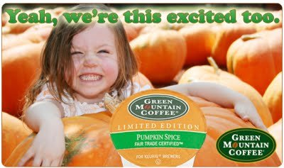 Green Mountain ~ LIMITED EDITION ~ Pumkin Spice